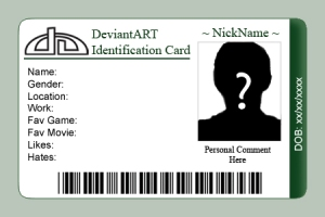 Image of Generic ID Card
