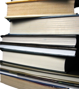 Books.  (this picture is illustrative, not informative)